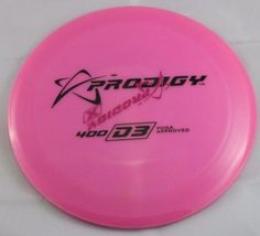 400s D3 173g Driver Prodigy Discs Pink X-Out Disc Golf Disc