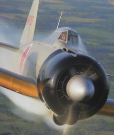 One of the three Mitsubishi A6M Zeros restored by the Canadian Robert Diement…