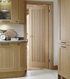 Pre-finished Genoa Oak door
