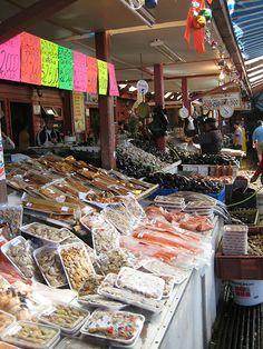 Chile, mercado de Puerto Montt