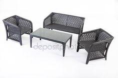 Fonott ülőgarnitúra — Stock Fotó #75111453