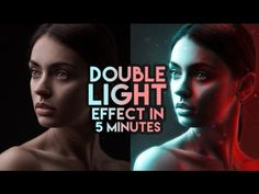 How to create a double light effect in Photoshop Photoshop Design, Photoshop Tutorial, Photoshop For Photographers, Photoshop Photography, Photography Tutorials, Photography Tips, Creepy Photography, Light Photography, Amazing Photography