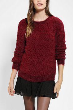 byCORPUS Cozy Popcorn Sweater