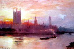 Eaton Square de George Hyde Pownall (1876-1932)