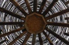 Roof of cob house.  http://www.boghill.com/wp-content/uploads/2012/02/DSC_0115.jpg