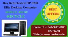 Buy Refurbished HP 8200 Elite Desktop Computer At Lowest Prices...  Contact No: 040-30883878/ 8977713355  For More Details Visit@====►http://goo.gl/KvEfA0