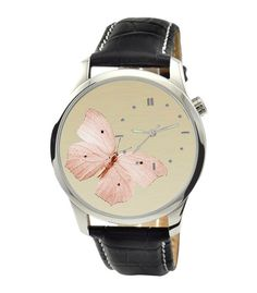 Butterfly Watch Beige by SandMwatch on Etsy