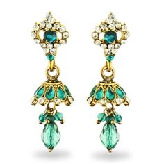 Create your own online store and sell multi-channel with Highwire. Bollywood, Ring Earrings, Belle Photo, Indian Fashion, Canopy, Costume Jewelry, Fashion Jewelry, Teal, Marigold