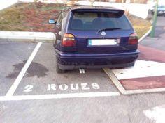 insolite parking place voiture
