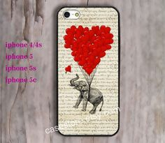 iphone 5c case iphone 5s caes iphoen 5 case Elephant by charmcover, $7.99