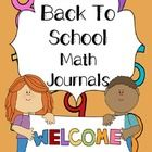 Get your students into the swing of math journals. Ten prompts included. Math Journals allow your children to read, write and think about math. Mat...