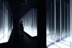 prism design simulates infinity with reflective bamboo forest in wuxi