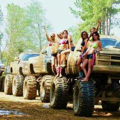 LOVE Big Trucks but need more mud men