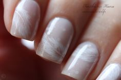 Feather Nail Art (see Video Tutorial at bottom of page)