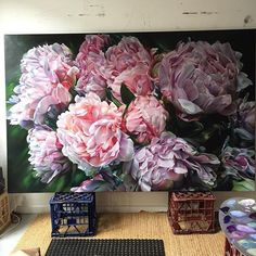 Image result for peonies paintings oil