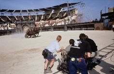 Behind the scenes of Gladiator!
