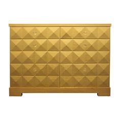 Viyet   Gold Leaf Drawer Dresser   $2000