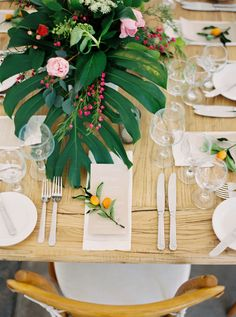 When Two Coworkers Marry the Plan One Colorful Palm Springs Wedding Orange Wedding, Summer Wedding, Dream Wedding, Wedding Table Decorations, Table Centerpieces, Wedding Tables, Centrepieces, Wedding Receptions, Spring Wedding Inspiration