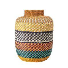 Natural fiber baskets for your home