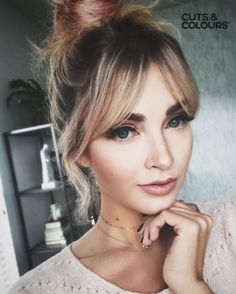 Likes, 42 Comments – Cara Van Brocklin ( Hairstyles With Bangs, Pretty Hairstyles, New Haircuts, Hair Day, Hair Inspo, Hair Trends, Her Hair, Hair Makeup, 70s Makeup
