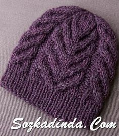Northward – a free cable hat pattern! (Tin Can Knits) Northward, another fabulous free pattern by Tin Can Knits. Cable knit hat pattern History of Knitting Yarn spinning, wea. Bonnet Crochet, Knit Or Crochet, Crochet Hats, Crochet Summer, Crochet Granny, Loom Knitting, Free Knitting, Beanie Knitting Patterns Free, Simple Knitting