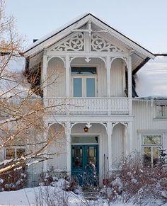 Originalt inngangsparti - et hus med sjel!