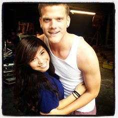 Scott and Kirstie