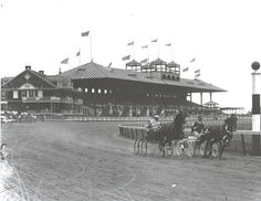 Yonkers Raceway opened in 1899. Harness Racing