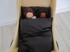 Puppenbettwäsche nähen
