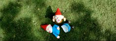 Ikea's evil anti gnome UK advertising campaign 'Say no to gnomes'. Awful adverts in which a couple kill garden gnomes! :-( It received many complaints from the public! Gnomes Book, Gnome Images, Yard Gnomes, Funny Gnomes, Traditional Stories, Discount Furniture Stores, Chelsea Flower Show, Cute Little Things