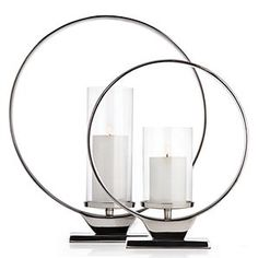 Z Gallerie - Obessed With Style - Cirque Pillar Holder - Stylish Home Decor, Affordable Home Decor, Modern Decor, Modern Furniture, Silver Candle Holders, Candle Shades, Home Accents, Accent Decor, Floor Lamp