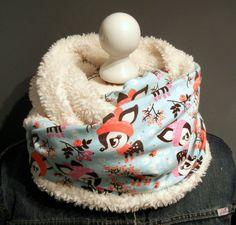 Damenloop Winterkitz Hafenkitz Rehe Teddyfleece