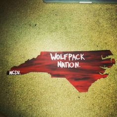 Wolfpack nation. NCSU. Now available at www.etsy.com/shop/AsSimpleAsSKP