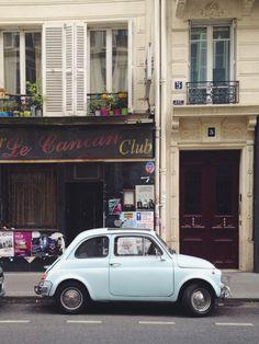 Blue VW, Paris | VSCO Grid | Marie C