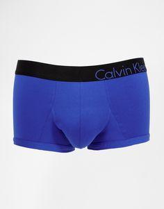 Boxer par Calvin Klein Jersey stretch Ceinture griffée Coupe près du corps Lavage en machine 83% coton, 17% élasthanne