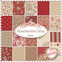Rouenneries Duex set B by French General for Moda Fabrics