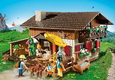 Alpine Lodge - 5422 - PLAYMOBIL® USA