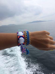 deniz, mavi 💙ben 😊 👉 #nubynu  #handmade #design #accessories #fashion #moda #girl #woman #luxury #trend #takı #jewellery #tasarım #style #aksesuar #friendshipbracelet #bileklik #bracelet #kişiyeözel #best #summerfashion #bodrum #çeşme