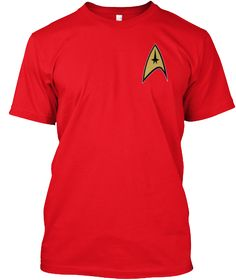 Welcome Trekkies Red T-Shirt Front