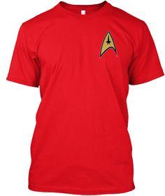 Welcome Trekkies Red T-Shirt Front