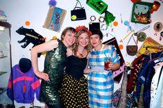 Tatty Devine -Harriet Vine and Rosie Wolfenden - Supermarket Sarah
