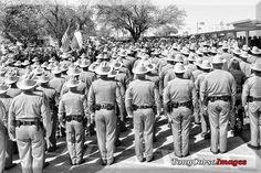 Texas State Trooper Nichols funeral, Mar 31, 2016. Paris, TX