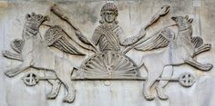 Basilica di San Marco, 11th century relief. Alexander has lured the griffins with meat (on the spears) and they lift him up to the heavens. This is the question !!!