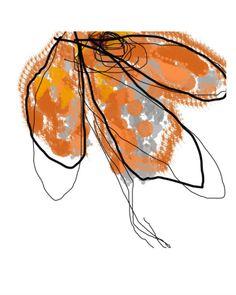 Orange Petals - Jan Weiss