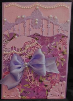 Absolutely love the colors used on this card.  So gorgeous!