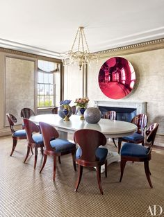 Where better to look for dining room inspiration than the city that never sleeps and loves to entertain? In Manhattan, a proper dining area is a luxury to be celebrated with amazing interiors.   archdigest.com