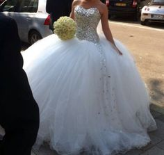 Gorgeous Ball Gown . I want this dress when I get married .