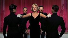 Since its Christmas Eve hes a picture of Rosemary Clooney in White Christmas (1954). http://ift.tt/2Bwgc3M