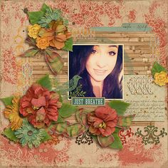 Digital Scrapbook Page Layout by Danyale using the Willow Kit from Etc by Danyale at The Lilypad #etcbydanyale #thelilypad #digitalscrapbooking #memorykeeping #benddontbreak