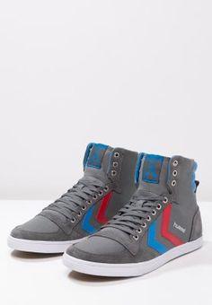 SLIMMER STADIL - Sneakers hoog - castle rock/ribbon red/brilliant blue